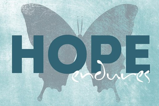 Quotes Hope Endures Inspirational Positive
