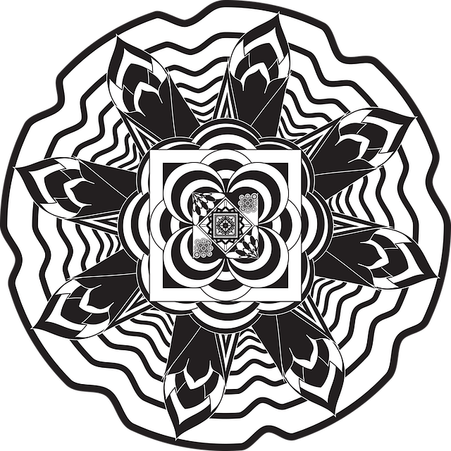 Mandalas Flowers Free Vector Graphic On Pixabay