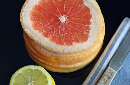 Grapefruit, Lemon, Fruit, Sweet, Food