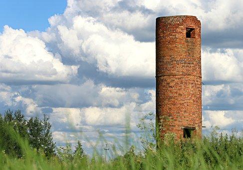 Turm, Festung, Backstein, Asyl, Wächter