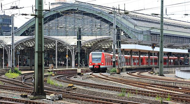 Cologne, Train, Central Station