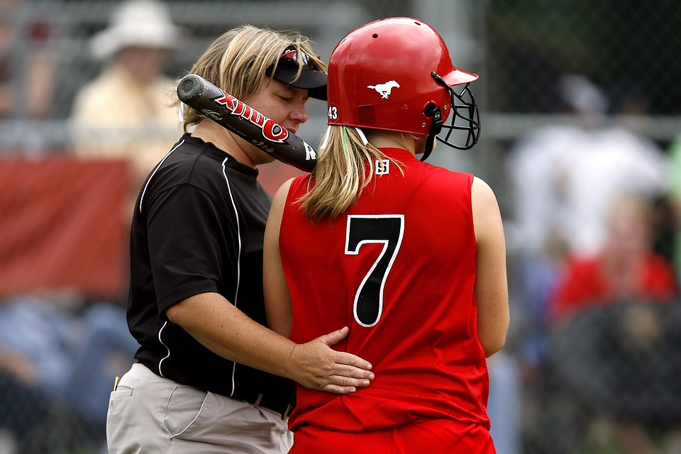Softball, Player, Coach, Game, Competition, Play