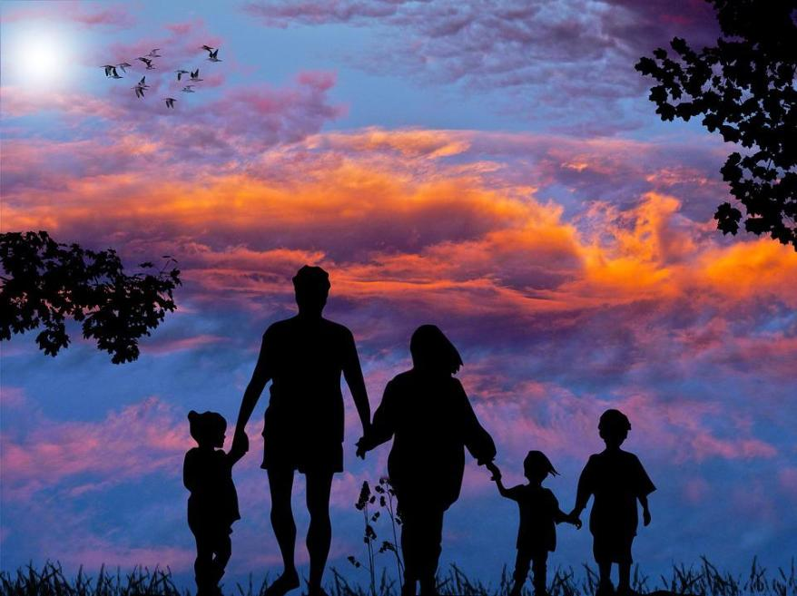 Family, Vacations, Together, Leisure, Summer, Child