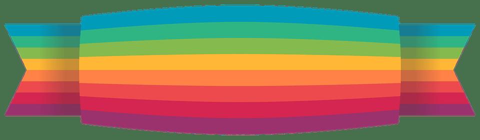 Ribbon Colorful Rainbow Free Image On Pixabay