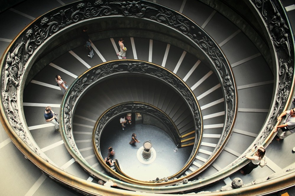Rome, Building, Stairs, Pictures, Museum, Vatican