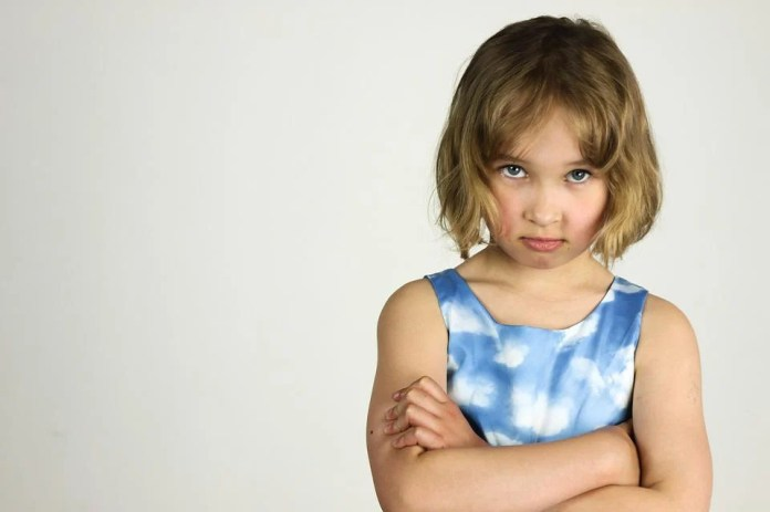 Child, The Little Girl, Anger, Bad Mood