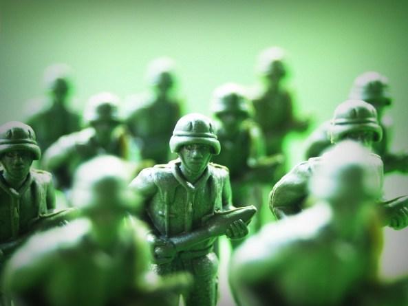 おもちゃ, 兵士, プラスチック, アクション, 戦争, 緑, ガード, 小, 小児期, 銃, 戦闘, 目的