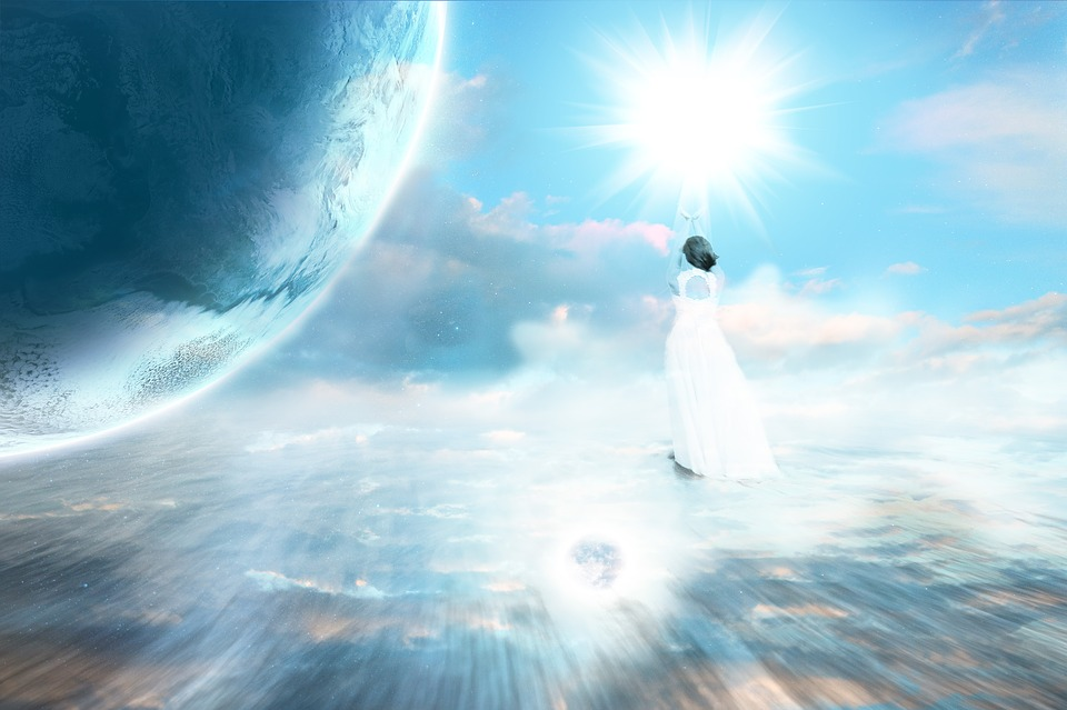 Ascension, Celestial, Planet, Heaven, Earth, Universe