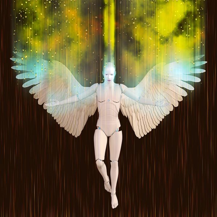 Angel Robot Female Free Image On Pixabay
