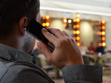 Man Talking On The Phone, Smartphone