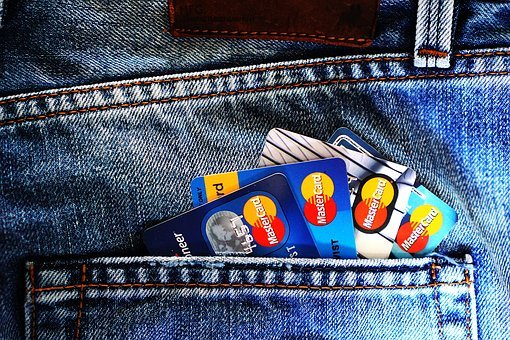 Credit Cards, Denim, Jeans, Blue Jeans