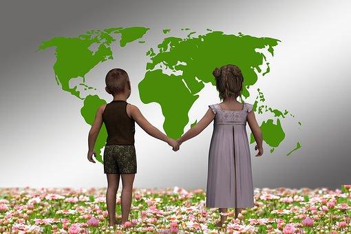 Les Enfants, Avant, Univers, Terre