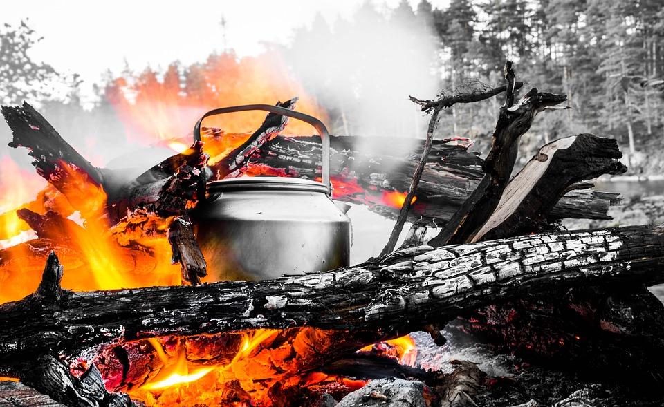 火, キャンプ, 自然, キャンプファイヤー, 光, 暖かい, ホット, 背景, 屋外, 木材, 暖炉, 薪