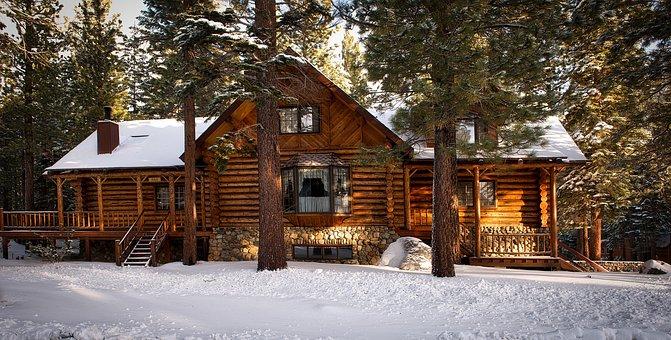 Log Cabin, House, Home, Rural, Rustic