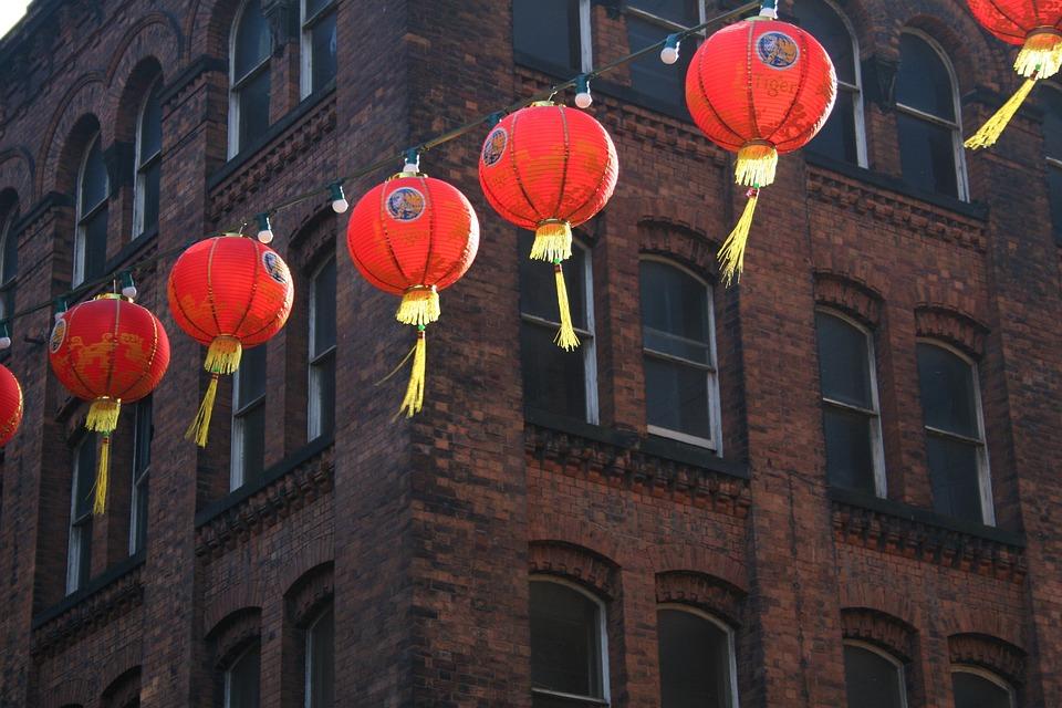 Chinese New Year Lanterns Free Photo On Pixabay