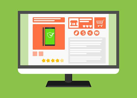 E コマース, オンライン ショップ, Web, テンプレート, ウェブサイト