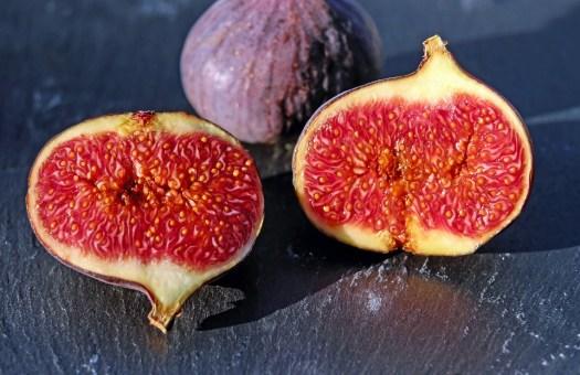 Fichi, Vigliacco Rosso, Frutta, Dolce, Frutti Di Fico