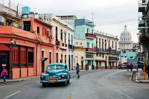 Cuba, Oltimer, La Havane