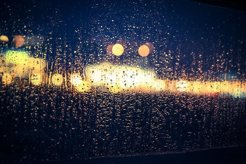 Free Photo Bokeh Rain Glass Window Blur Free Image