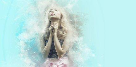 祈る, 信仰, 妖精, 望み, 願い, 夢, ブロンド, 女性, 女の子