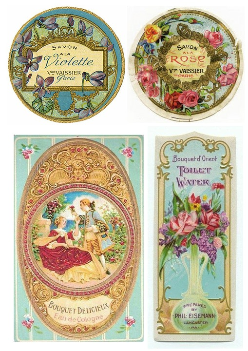 Labels Vintage Toiletries Free Image On Pixabay