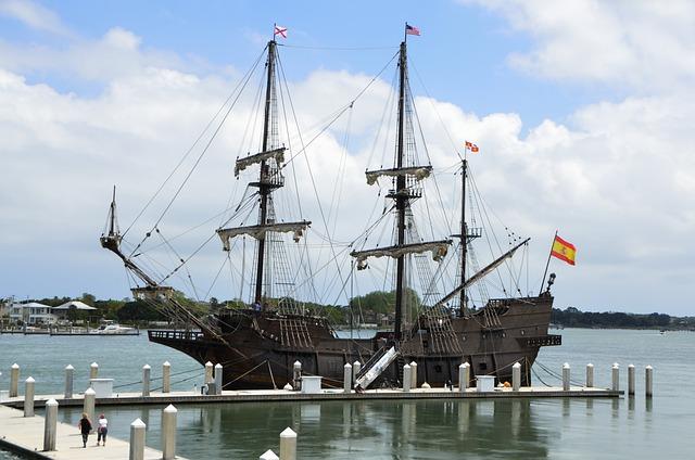 Galleon Ship Moored Docked Free Photo On Pixabay