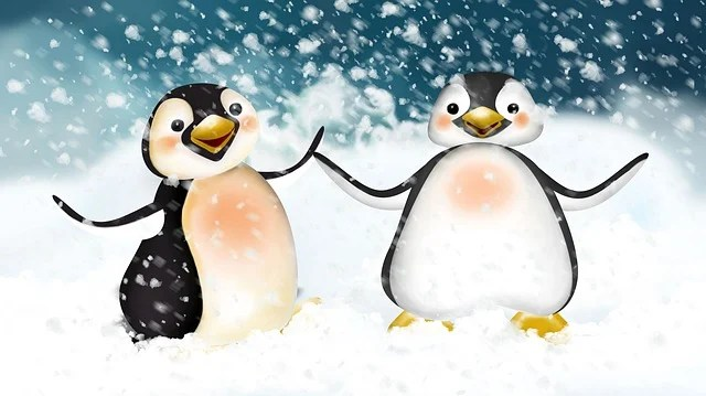 Free Illustration Penguin Dance Arctic Art Zoo Free