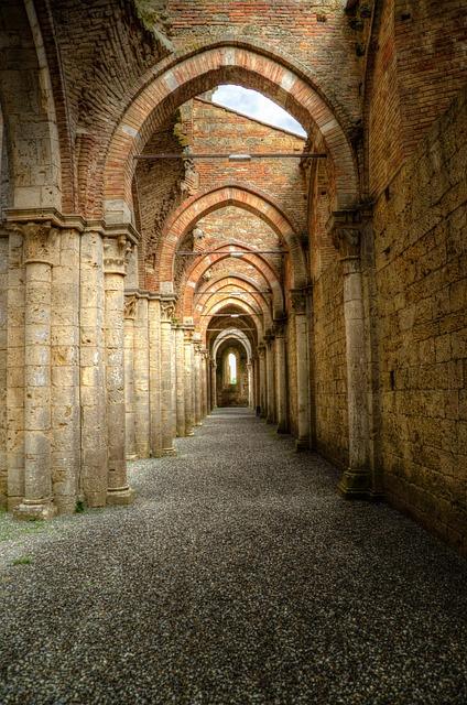 Free Photo Archway Peristyle Gothic Abbey Free Image