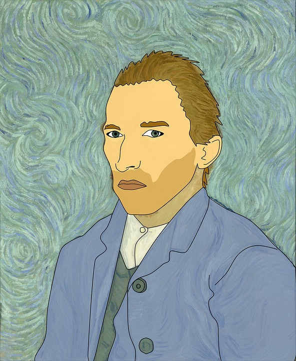 Van Gogh, Illustration, Insanity, Artist, Man