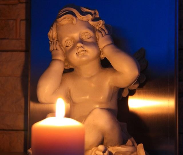 Hear No Evil Angel Candle Trilogy Symbolism