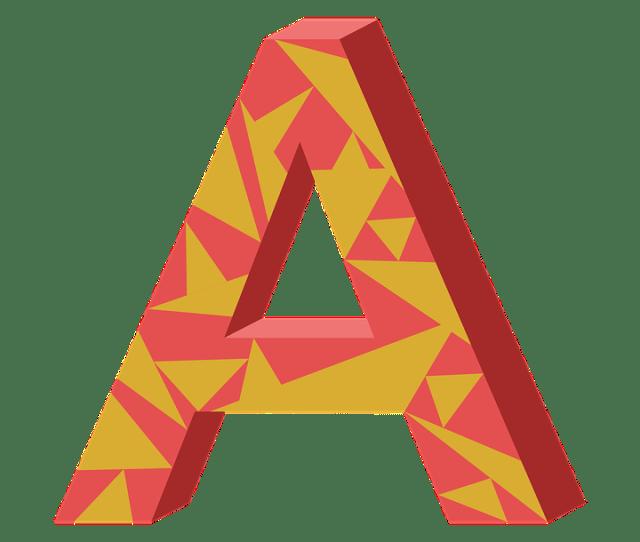 A Letter Ah Aha Alphabet Language Syllable