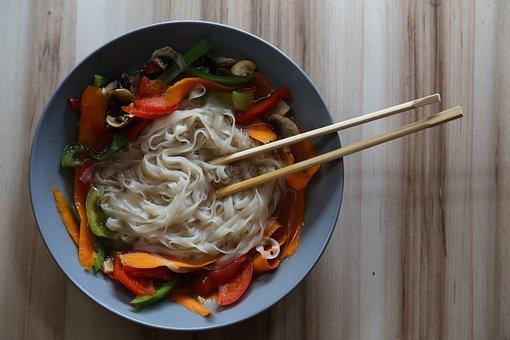 Soup, Orient, Vegan Restaurants, Dish