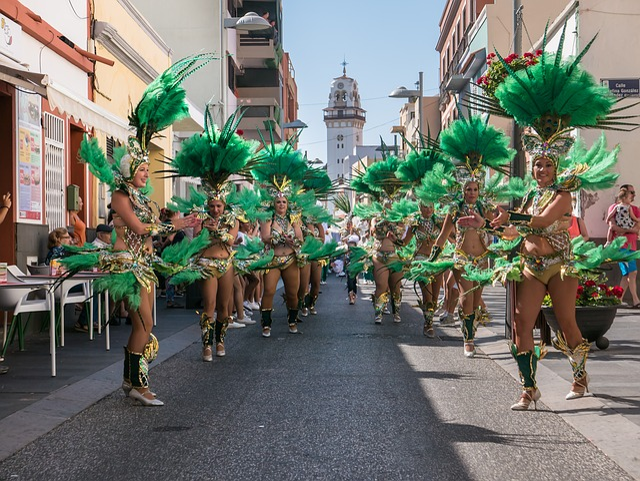 Carnival Troupe Dance Free Photo On Pixabay