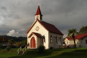 Old Church, Steeple, Old, Church, Architecture