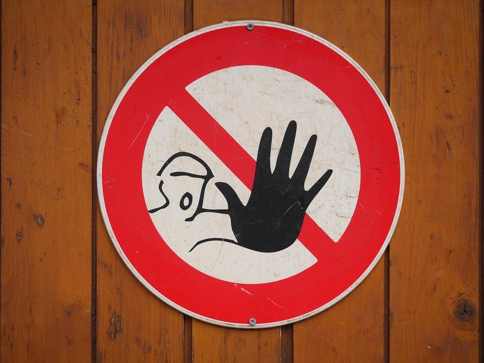 記号, 停止, 警告, 一時停止の標識, シンボル, 安全性, 危険, 注意
