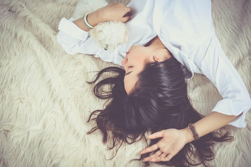 女の子, 睡眠, 女性, 若いです, 人, 夢を見てください, 眠っています, 肖像画, 休憩, リラックス