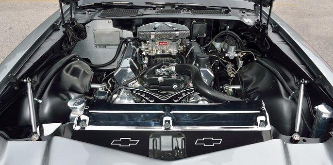 Car Engine, Motor, Engine, Vehicle, Auto