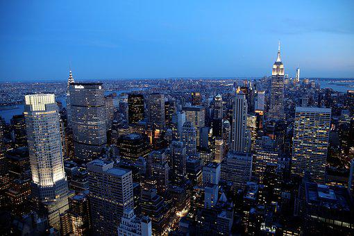 New York, City, Skyscraper