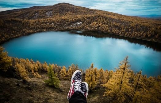 Viaggio, Lago, Piedi, Riposo, Escursioni A Piedi