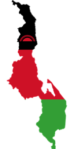 Malawi, Flag, Map, Geography, Outline