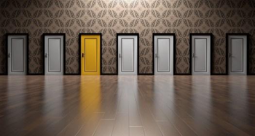 Porte, Scelte, Scegliere, Aperto, Decisione