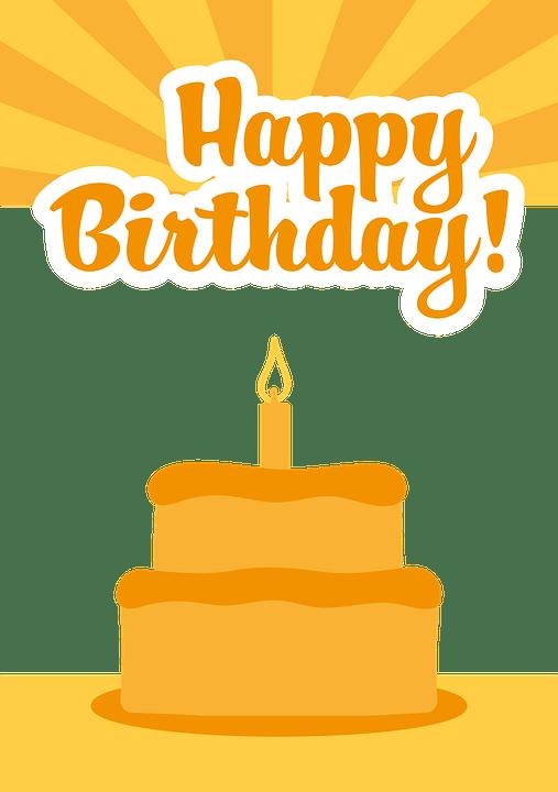 Ulang Tahun Semua Baik Jeruk Kartu Gambar Vektor Gratis Di Pixabay
