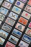 Stamps, Collection, Philately, French Stamps