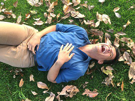 Laughter, Latino, Autumn, Leaves