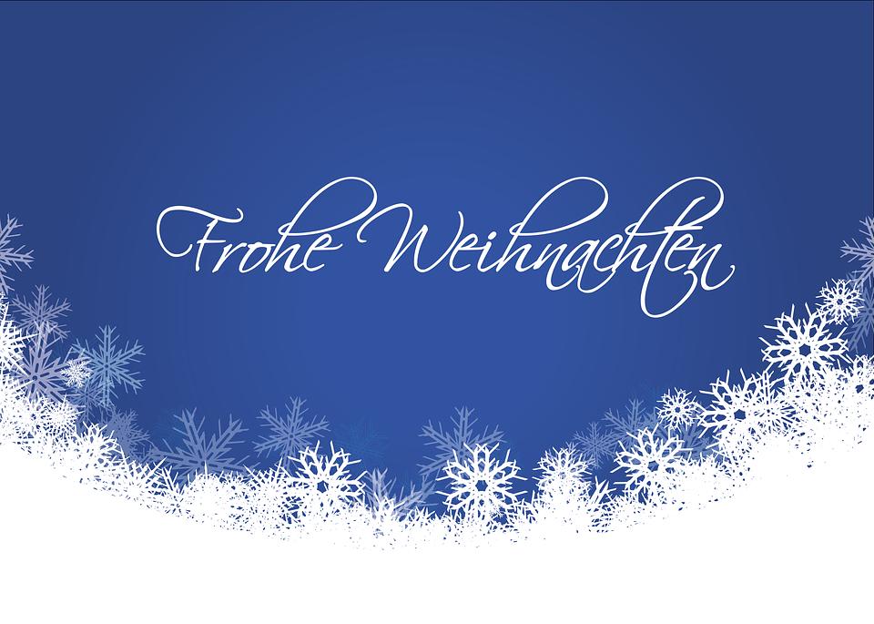 Weihnachtskarte Schnee Kostenloses Bild Auf Pixabay