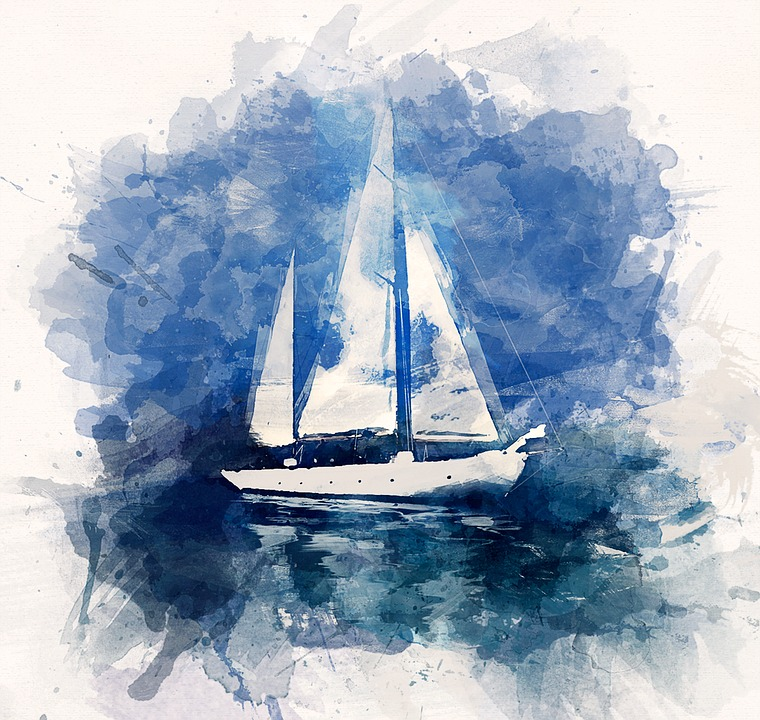 Free Illustration Illustration Ship Yacht Ocean Free