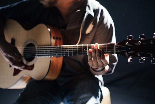 Akustyczny, Zespół, Gitara, Gitarzysta