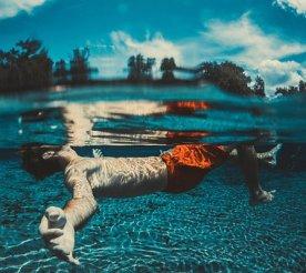 Floating, Fun, Man, Ocean, Person, Sea