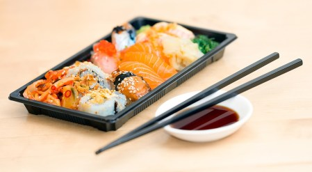 Sushi, Emporte, Alimentaire, Repas, Fruits De Mer