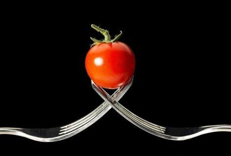 Tomate, Garfos, Macro